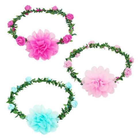 All Products,ACCESSORIES,garlands And Tiaras - Light Up Rose Garland