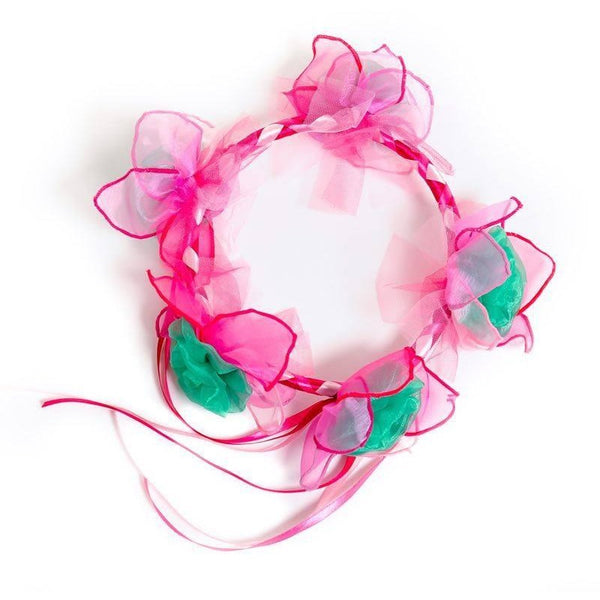 All Products,ACCESSORIES,garlands And Tiaras - Pink Fairy Garland