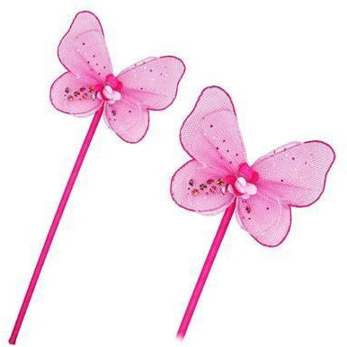 All Products,ACCESSORIES,WINGS & WANDS - Pink Butterfly Wand