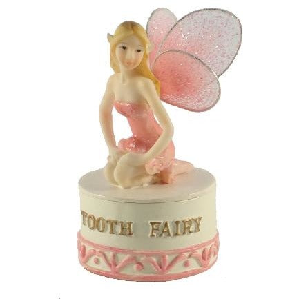 All Products,BEDROOM - Tooth Fairy Trinket Box - Pink