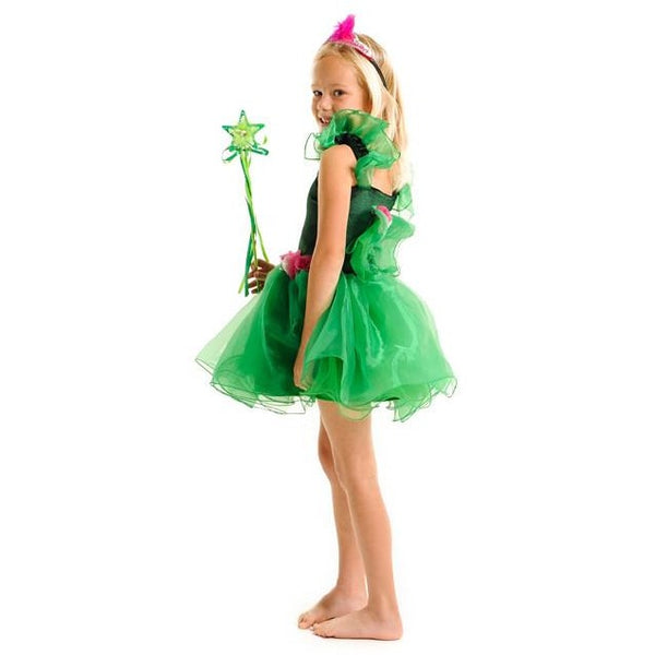 All Products,dress Ups - Green Fairylicious Dress