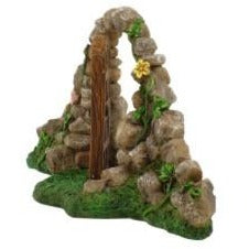 All Products,fairy Doors - Stone Arch Fairy Door
