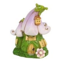 Fairy Garden Fairy Houses - Miniature Flower Fairy House 6cm