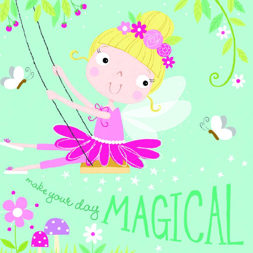 Card - Birthday Card - Make Your Day Magical