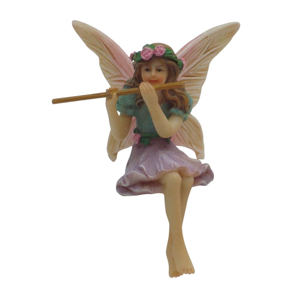 Fairy Figurine - Fairy Melody With Flute