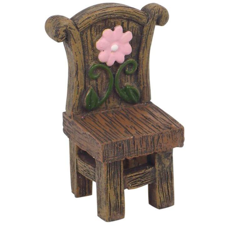 Fairy Garden Chair - Enchanted Fairy Garden Mini Chair