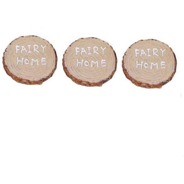 Fairy Garden - Fairy Stepping Stones With Wording