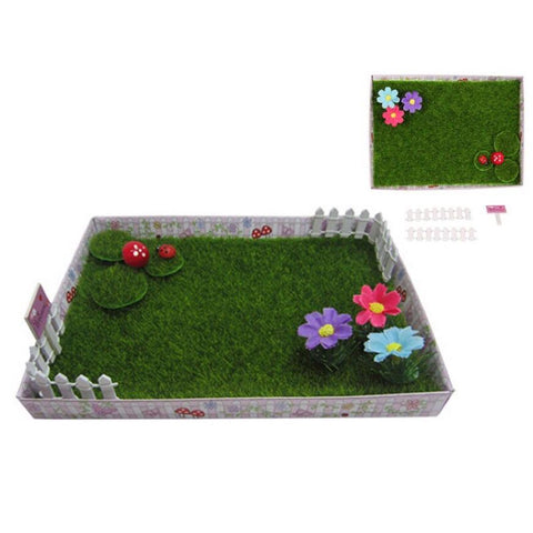 Fairy Garden - Miniature Fairy Garden Display Box
