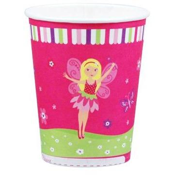 Fairy Party Cups - Fairy Party Cups 8 Pce