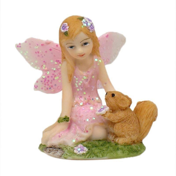 Figurine - Mini Sitting Fairy Set 4cm