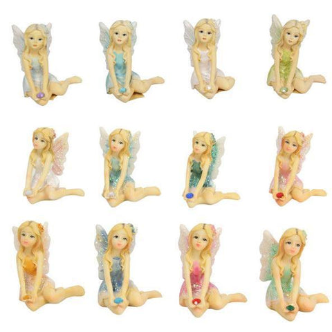 Figurines - Glitter Fairy | 12 Assorted Colours