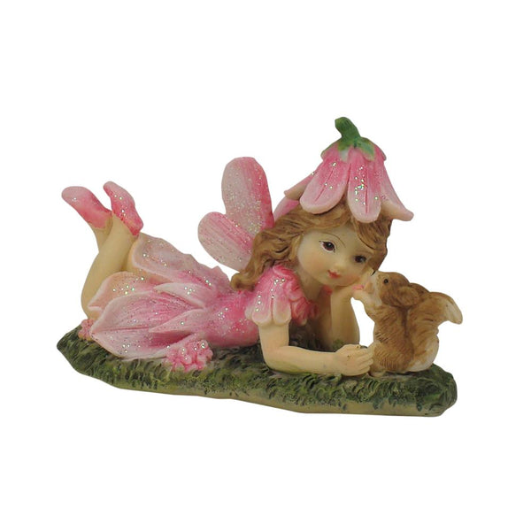 Flower Garden Fairy With Squirrel