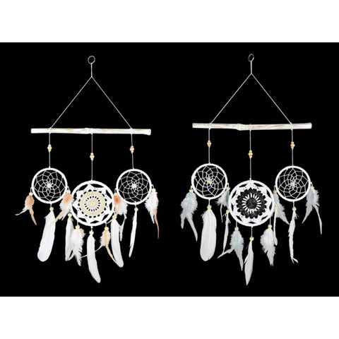 Mandala Triple Dream Catcher