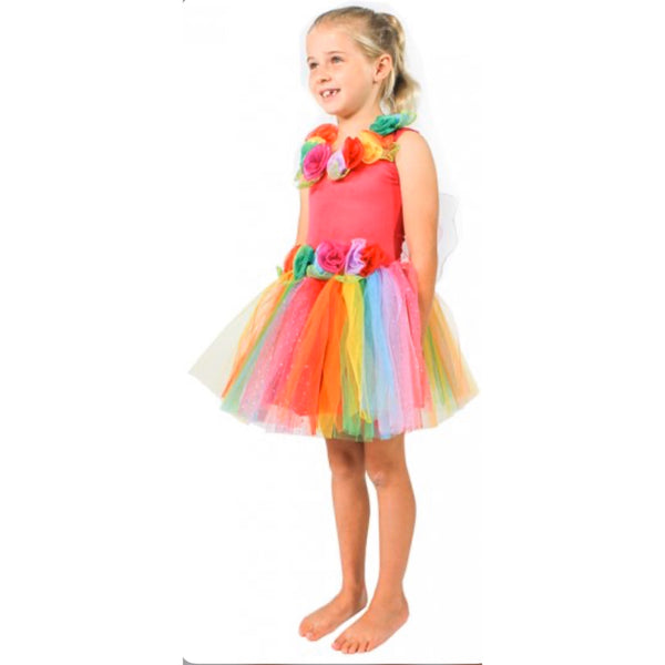 girls rainbow fairy dress australia