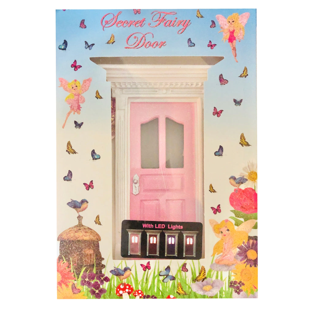 light pink fairy door Australia