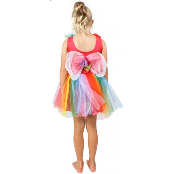 rainbow fairy dress