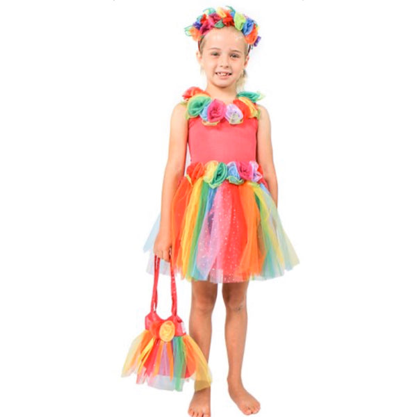 children's rainbow fairy costume