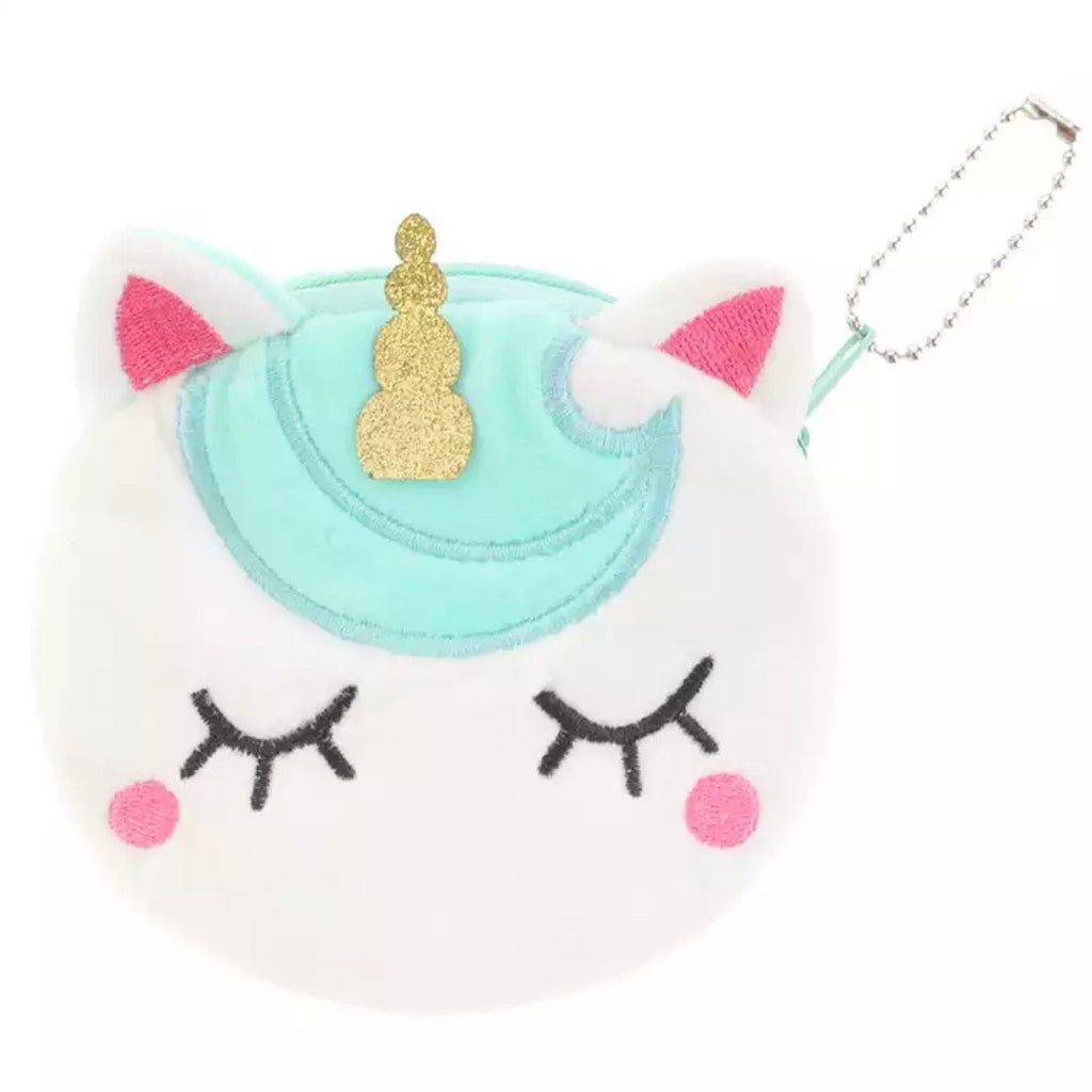 girls unicorn coin purse