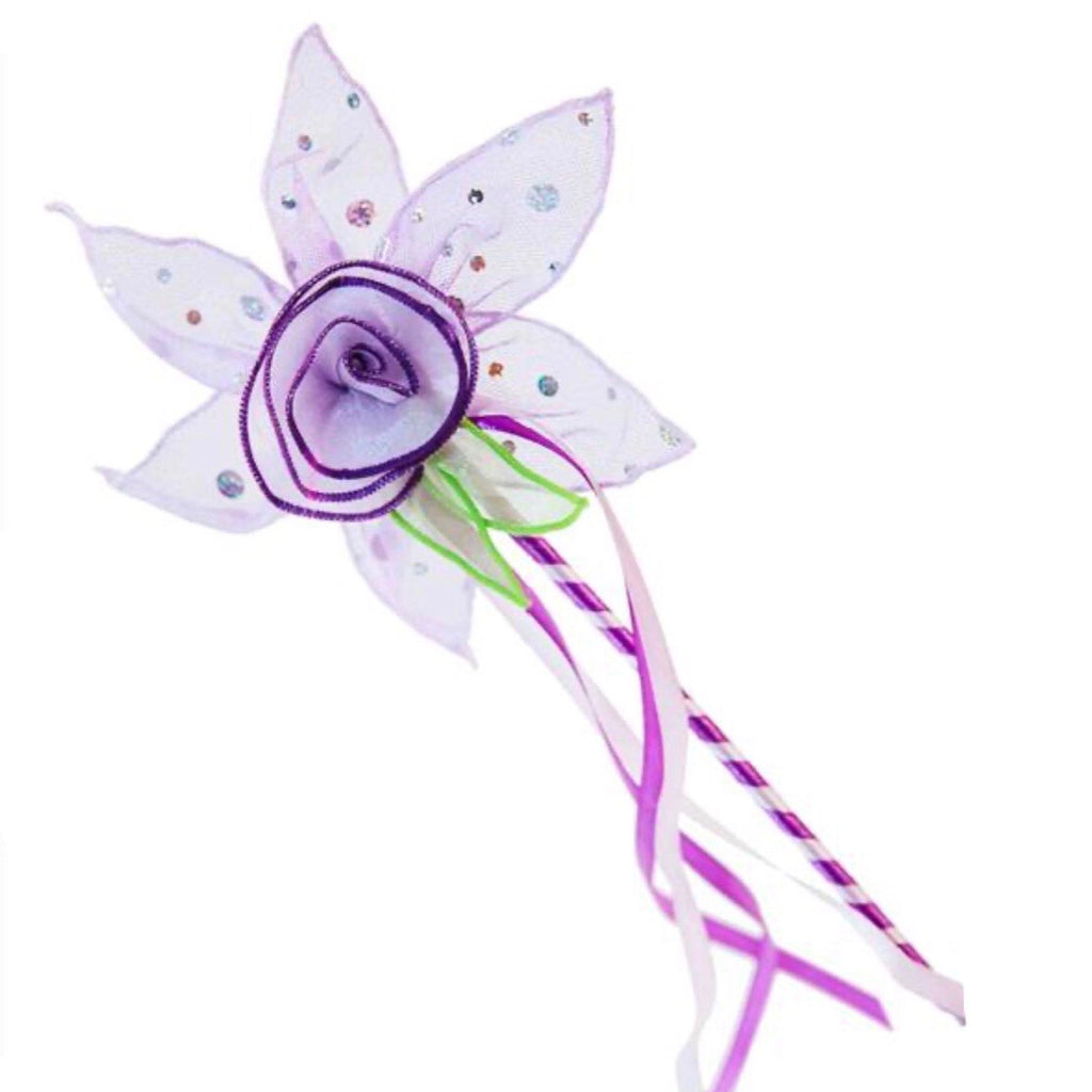 Purple Bloom Fairy Wand