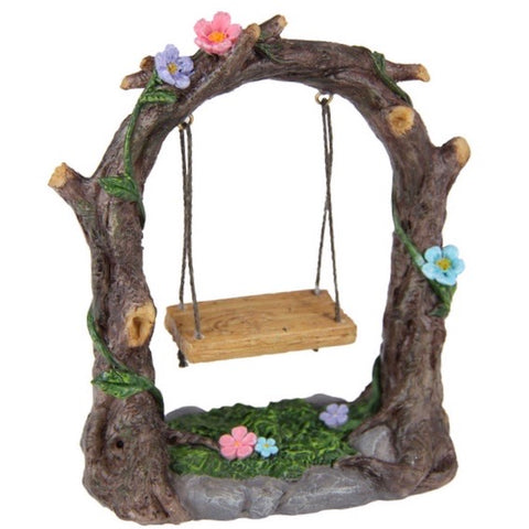 Fairy Garden Swing With Seat