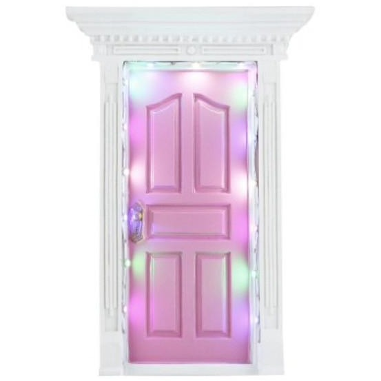 Light up pink fairy door australia