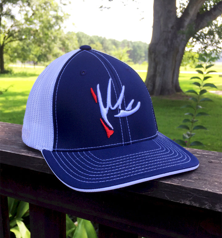 "Bone Brand | ""The Shed"" 404M Trucker Mesh Flexfit Cap 
