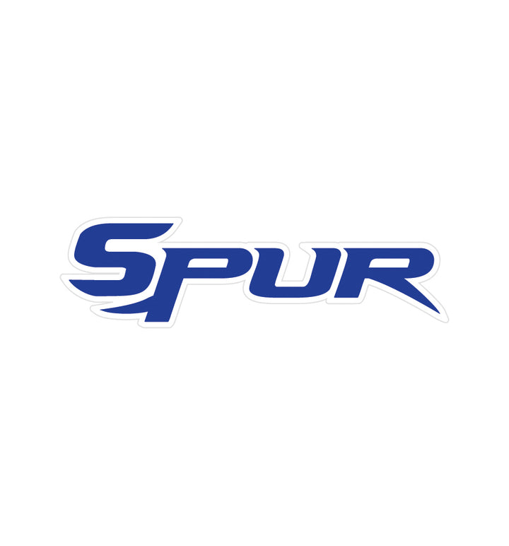 "Bonehead Brand | Large Window Decal | ""Spur"" Text Logo 