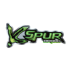 "Bone Brand | Large Window Decal | ""Spur Brand Turkey Track"" Logo 
