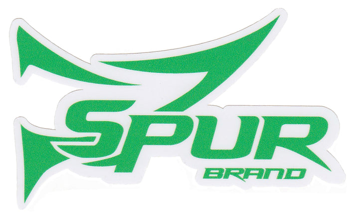 Bone Brand Window Decal | Spur Brand Logo | Green