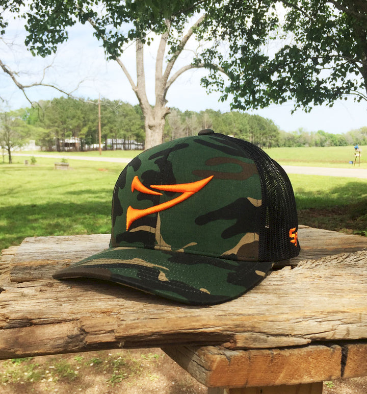 "Bone Brand | Spur ""Double Spur"" 108C Twill Mesh Snap-Back Cap 