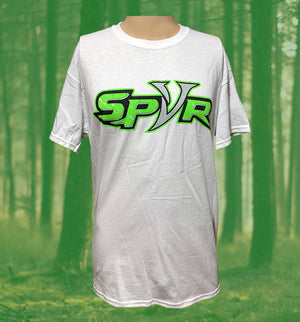 "Spur Brand | Text Logo with Double Spur ""U"" 