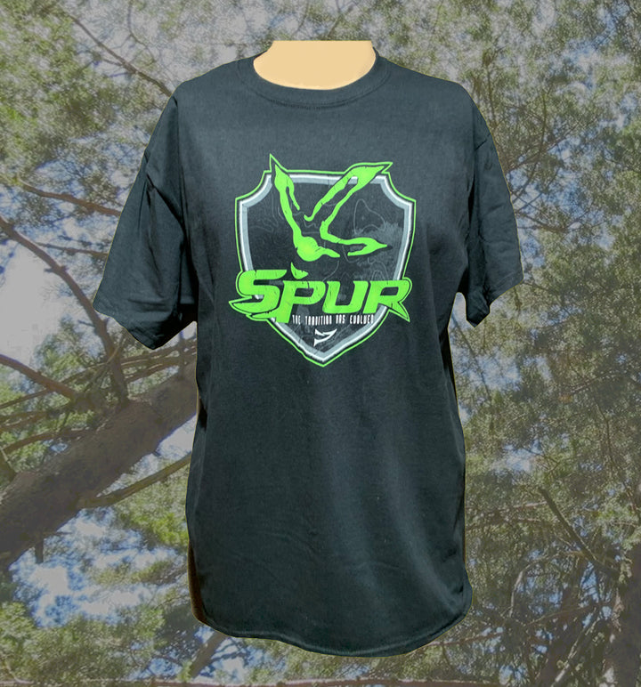 "Spur Brand | ""Turkey Track Topo Map"" Logo 