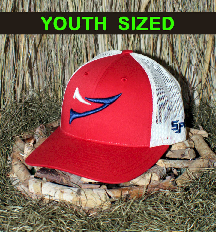 "Spur Brand | Spur ""Double Spur"" Youth 115SM Snap-Back Cap 
