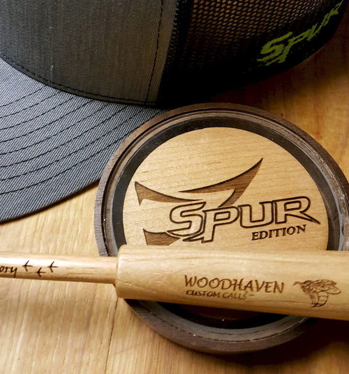 Bonehead Brand | Spur Turkey Call | Limited Edition | Woodhaven Custom Calls | Image1