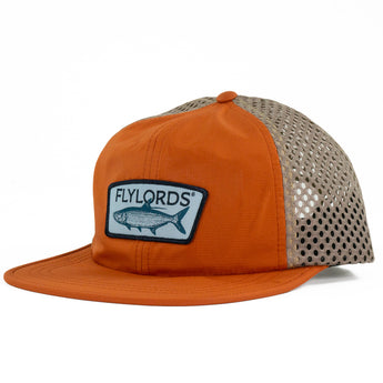 Orange Tarpon Mesh Hat