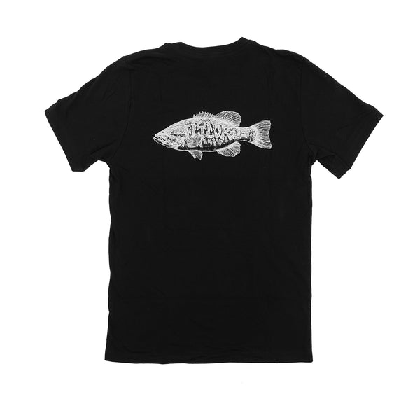 Flylords Smallmouth Pocket T, Black