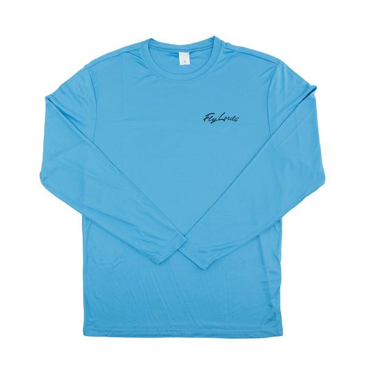Reel Head Performance Long Sleeve Blue