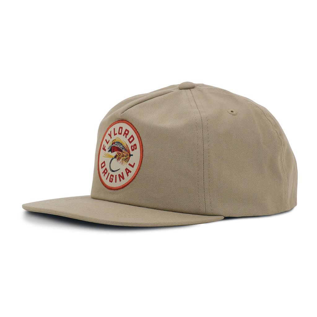 Khaki Hat with Fly Patch