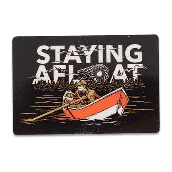 Staying Afloat Sticker