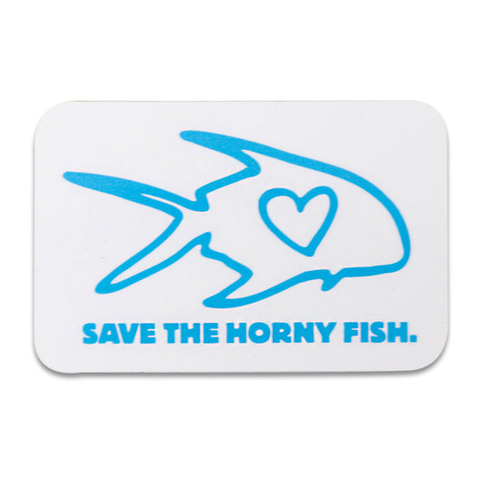 Save The Horny Fish Sticker