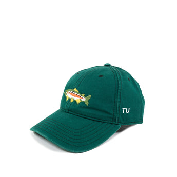 Needlepoint Trout Hat