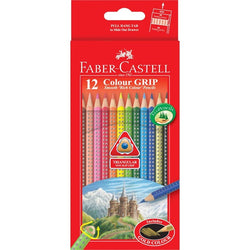 Faber-Castell 12 Color Grip Pencils