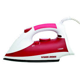 Black+Decker 1450W Steam Iron