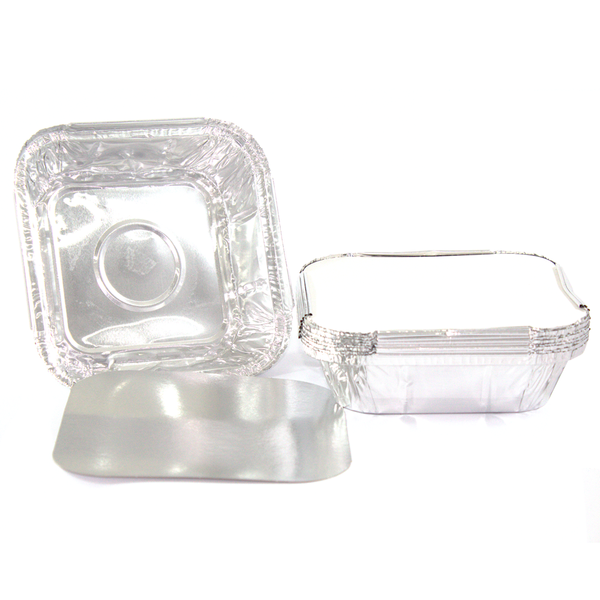 Copy of Target Pack Aluminium Foil Container with Lid - 650ml - 10pcs
