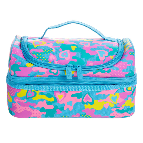 Smiggle Chaos Double Decker Lunchbox