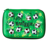 Smiggle Hello Scented Hardtop Pencil Case - Green