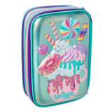 Smiggle Fab Triple Up Hardtop Pencil Case
