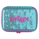 Smiggle Funk Metallic Double Hardtop Pencil Case - Blue