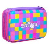 Smiggle Neon Double Hardtop Pencil Case
