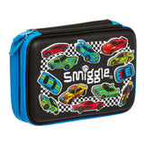 -Smiggle Xtreme Double Up Hardtop Pencil Case - DAMAGED